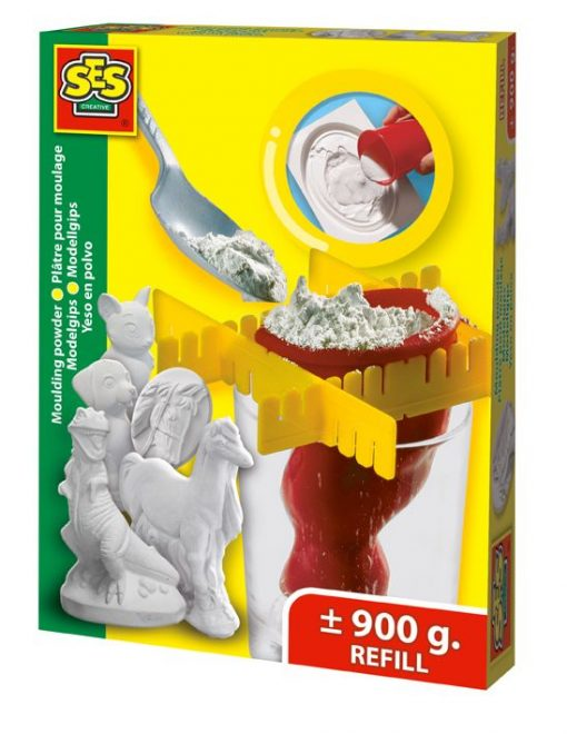 Gips do odlewów, SES Creative - zabawka plastyczna | ZabawkiRozwojowe.pl