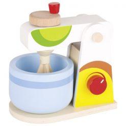 Drewniany multikolorowy mikser | ZabawkiRozwojowe.pl - sklep internetowy z zabawkami rozwojowymi