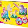 Koniki 3D - odlewy gipsowe z farbami - zabawka plastyczna   ZabawkiRozwojowe.pl