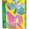 Lśniące koniki - odlew gipsowy 3D + brokat | ZabawkiRozwojowe.pl
