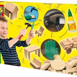 Mały stolarz - drewniany, rozbudowany zestaw | ZabawkiRozwojowe.pl