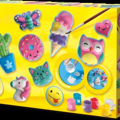 Odlewy gipsowe - wesołe figurki, SES Creative | ZabawkiRozwojowe.pl