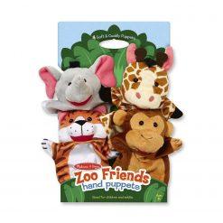 Pacynki na rękę Zoo