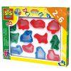 Plastikowe foremki - zabawka kreatywna | ZabawkiRozwojowe.pl