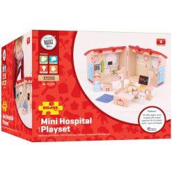 Drewniany zestaw Szpital firmy BigJigs Toys | ZabawkiRozwojowe.pl - sklep internetowy z zabawkami rozwojowymi