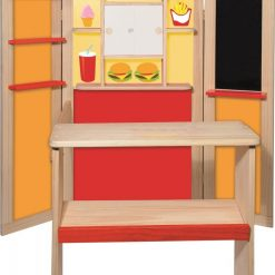 Drewniany sklep i poczta 2w1 | ZabawkiRozwojowe.pl - zabawki edukacyjne dla dzieci