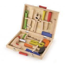 Drewniana skrzynka z narzędziami | ZabawkiRozwojowe.pl