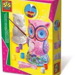 Sowa - odlew gipsowy 3D, SES Creative | ZabawkiRozwojowe.pl