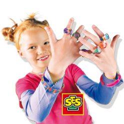 Tęczowe pierścionki