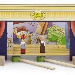 Teatr magnetyczny z figurkami