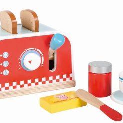 Drewniany toster Pop-Up dla dzieci | ZabawkiRozwojowe.pl - sklep internetowy z zabawkami rozwojowymi