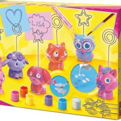 Uchwyty na karteczki ze zwierzątkami - zabawka kreatywna | ZabawkiRozwojowe.pl