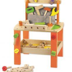 Warsztat drewniany dla chłopca | ZabawkiRozwojowe.pl