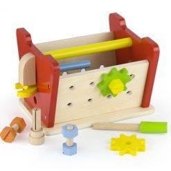 Warsztat i skrzynka z narzędziami 2w1