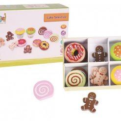 Wybór ciastek z drewna - zabawka dla dzieci | ZabawkiRozwojowe.pl