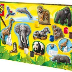Zwierzęta - odlewy gipsowe, SES Creative | ZabawkiRozwojowe.pl