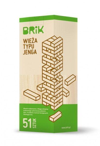 Drewniana wieża typu Jenga | ZabawkiRozwojowe.pl - sklep internetowy z zabawkami rozwojowymi