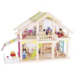 Drewniany domek dla lalek Susibelle | ZabawkiRozwojowe.pl