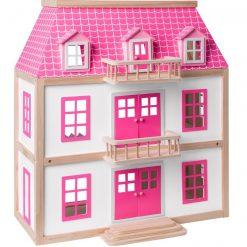 Drewniany domek dla lalek Zuzanna | ZabawkiRozwojowe.pl - sklep internetowy z zabawkami rozwojowymi