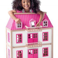 Drewniany domek dla lalek Zuzanna