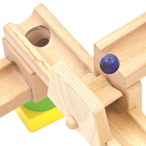 Drewniany kulodrom Zrób to sam