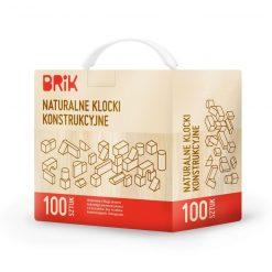 Naturalne drewniane klocki konstrukcyjne | ZabawkiRozwojowe.pl - zabawki na święta