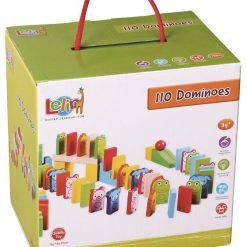 Drewniane klocki domino Zwierzaki | ZabawkiRozwojowe.pl - sklep internetowy z zabawkami rozwojowymi