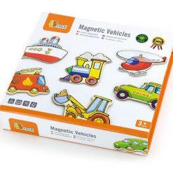 Drewniane magnesy Pojazdy