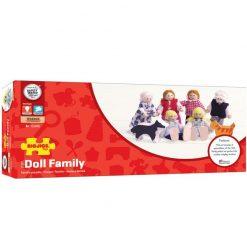 Drewniane lalki do domku Rodzinka | ZabawkiRozwojowe.pl - sklep internetowy z zabawkami rozwojowymi