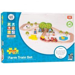 Kolejka drewniana Farma