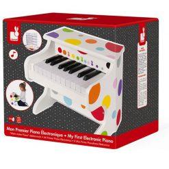 Elektroniczne pianino Confetti - zabawka muzyczna dla dzieci | ZabawkiRozwojowe.pl