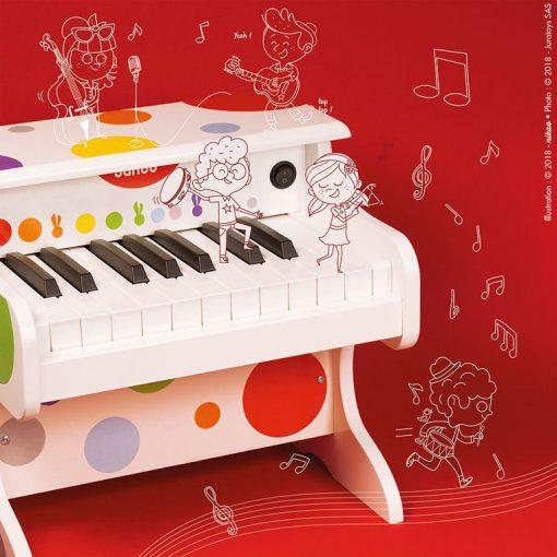 Elektroniczne pianino Confetti