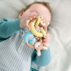 Grzechotka dla niemowląt Miś