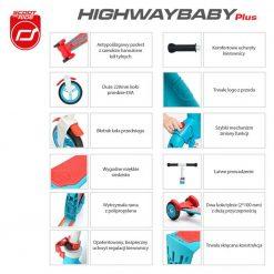 Różowy Highwaybaby Plus