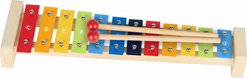Metalowe cymbałki 12-tonowe - zabawka kreatywna | ZabawkiRozwojowe.pl