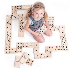 Gigantyczne klocki domino