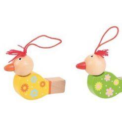 Drewniane gwizdki Ptaszki - kreatywna zabawka | ZabawkiRozwojowe.pl