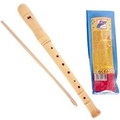 Drewniany flet w pokrowcu - zabawki muzyczne | ZabawkiRozwojowe.pl