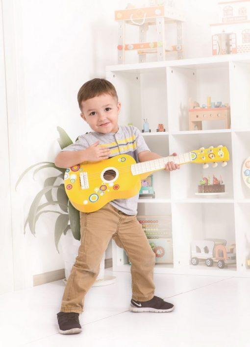 gitara sześciostrunowa Bąbelki