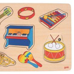 puzzle dźwiękowe Instrumenty muzyczne
