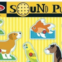 puzzle dźwiękowe Zwierzęta