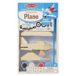 Drewniany samolot do złożenia