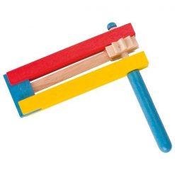 Drewniana terkotka dla kibica - zabawka kreatywna | ZabawkiRozwojowe.pl