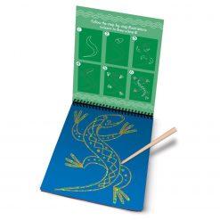 Notatnik-zdrapka do rysowania