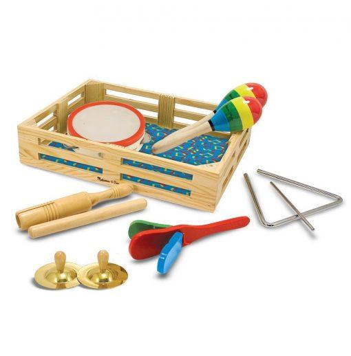 Zestaw instrumentów Zespół w pudełku - zabawki muzyczne | ZabawkiRozwojowe.pl