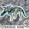 Puzzle 3D Triceratops