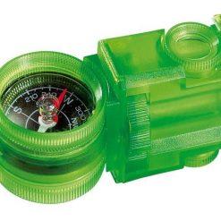 Przyrząd optyczny z kompasem