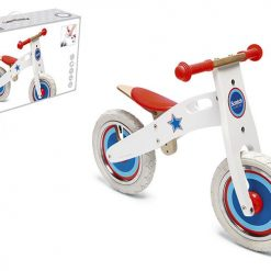 Rowerek biegowy Biała gwiazda