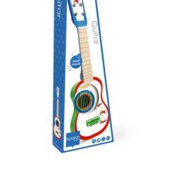 Drewniana gitara Fanfare - zabawka kreatywna | ZabawkiRozwojowe.pl