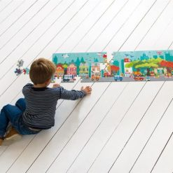 Puzzle podłogowe Miasto